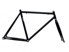 BLACK MATT FRAME + FORK