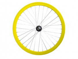 YELLOW FRONT WHEEL