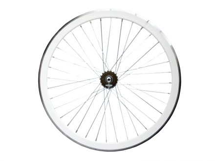 WHITE REAR WHEEL