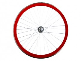 RED FRONT FIXIE WHEEL
