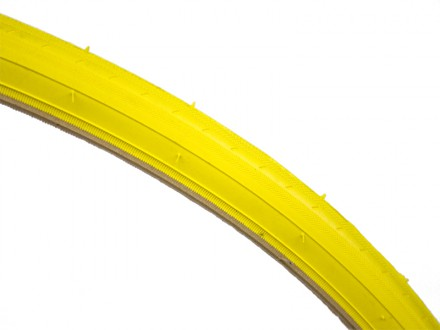 YELLOW 700C FIXIE TYRE