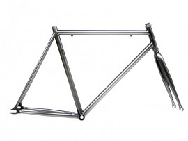 FRAME + FORK IN LIGHT GREY COLOR