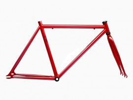 FRAME + FORK IN RED COLOR