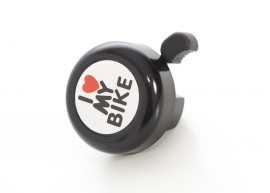 bell for bike I love my bike black