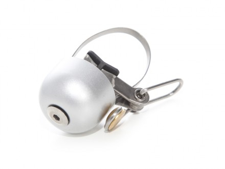 Retro silver bell for bike