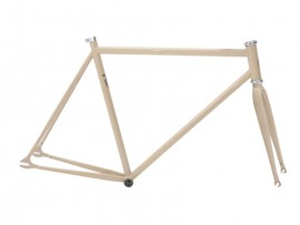 FRAME + FORK IN BEIGE COLOR