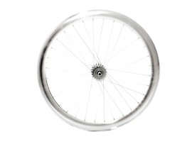 METALLIC GREY FIXIE REAR WHEEL