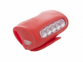 Luces led bicicleta rojas
