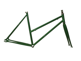 FRAME + FORK IN FOREST GREEN COLOR